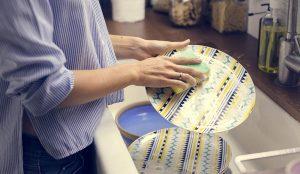 Lavando a louça com atenção plena